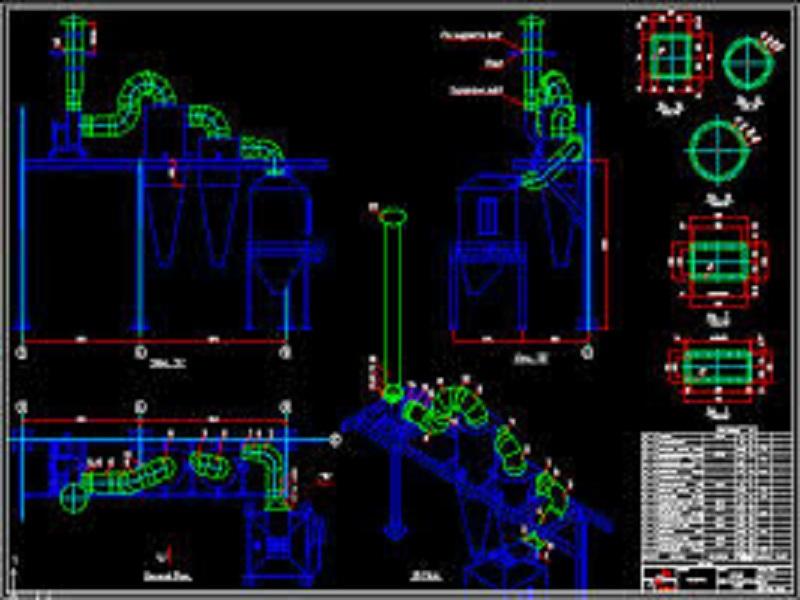 طراحی و ساخت سیکلون ها