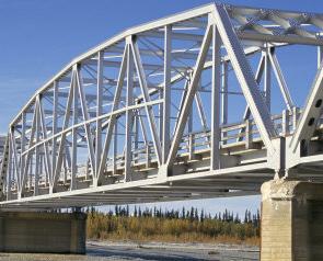 پل های اسکلت فلزی